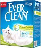 Наполнитель для кошачьего туалета Ever Clean Spring Garden c нежным ароматом весеннего сада 10л