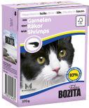 Корм для кошек Bozita Кусочки в соусе с креветками 370г