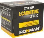 Напиток IronMan Super L-carnitine 2700 Лимон-Лайм 12шт*60мл