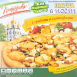 Пицца Пиццэрика В пост с грибами и картофелем 450г