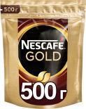 Кофе растворимый Nescafe Gold 500г