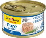 Корм для собак GimDog Pure Delight из тунца 85г