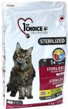 Сухой корм для кошек 1st Choice Sterilized Курица с бататом 5кг