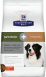 Сухой корм для собак Hills Prescription Diet Metabolic + Mobility для поддержания веса и при заболеваниях суставов с курицей 12кг