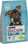 Сухой корм для щенков Dog Chow Large Breed Puppy с индейкой 2.5кг