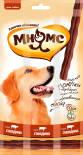 Лакомство для собак Мнямс лакомые палочки с говядиной для собак 45г