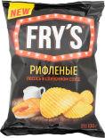 Чипсы Frys Рифленые Лосось в сливочном соусе 130г