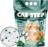 Наполнитель для кошачьего туалета Cat Step Fresh Mint 3.8л