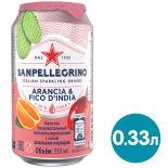 Напиток сокосодержащий Sanpellegrino Апельсин-Опунция 330мл