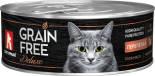 Корм для кошек Зоогурман Grain Free Deluxe со вкусом перепелки 100г