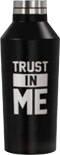 Термобутылка Trust in me черная 390мл