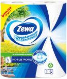 Бумажные полотенца Zewa 1/2 листа 2 рулона 2 слоя