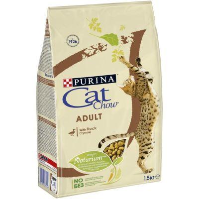 Сухой корм для кошек Cat Chow Утка 1.5кг