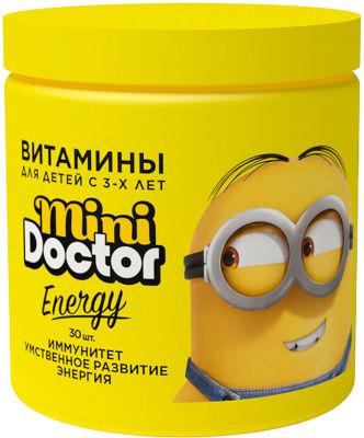 БАД Mini Doctor Energy Витаминиы для детей 3+ 30шт