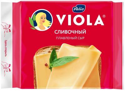 Сыр плавленый Viola Cливочный 45% 140г