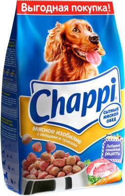 Сухой корм для собак Chappi Мясное изобилие с овощами и травами 2.5кг