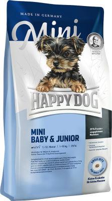 Сухой корм для щенков Happy Dog Baby&Junior 1кг