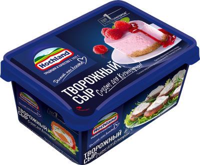 Сыр творожный Hochland 65% 400г