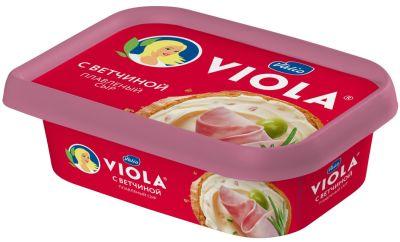 Сыр плавленый Viola с ветчиной 50% 200г