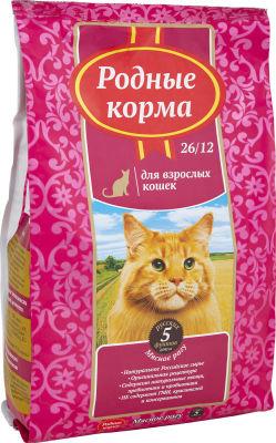 Сухой корм для кошек Родные корма Мясное рагу 2.045кг
