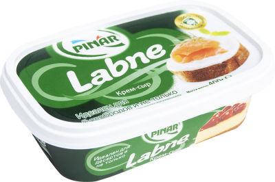 Крем-сыр Pinar Labne мягкий 60% 400г